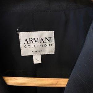 Armani pants suit size 14